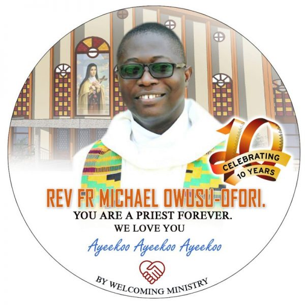 Rev. Fr. Michael Owusu-Ofori Marks 10 Years in Priesthood
